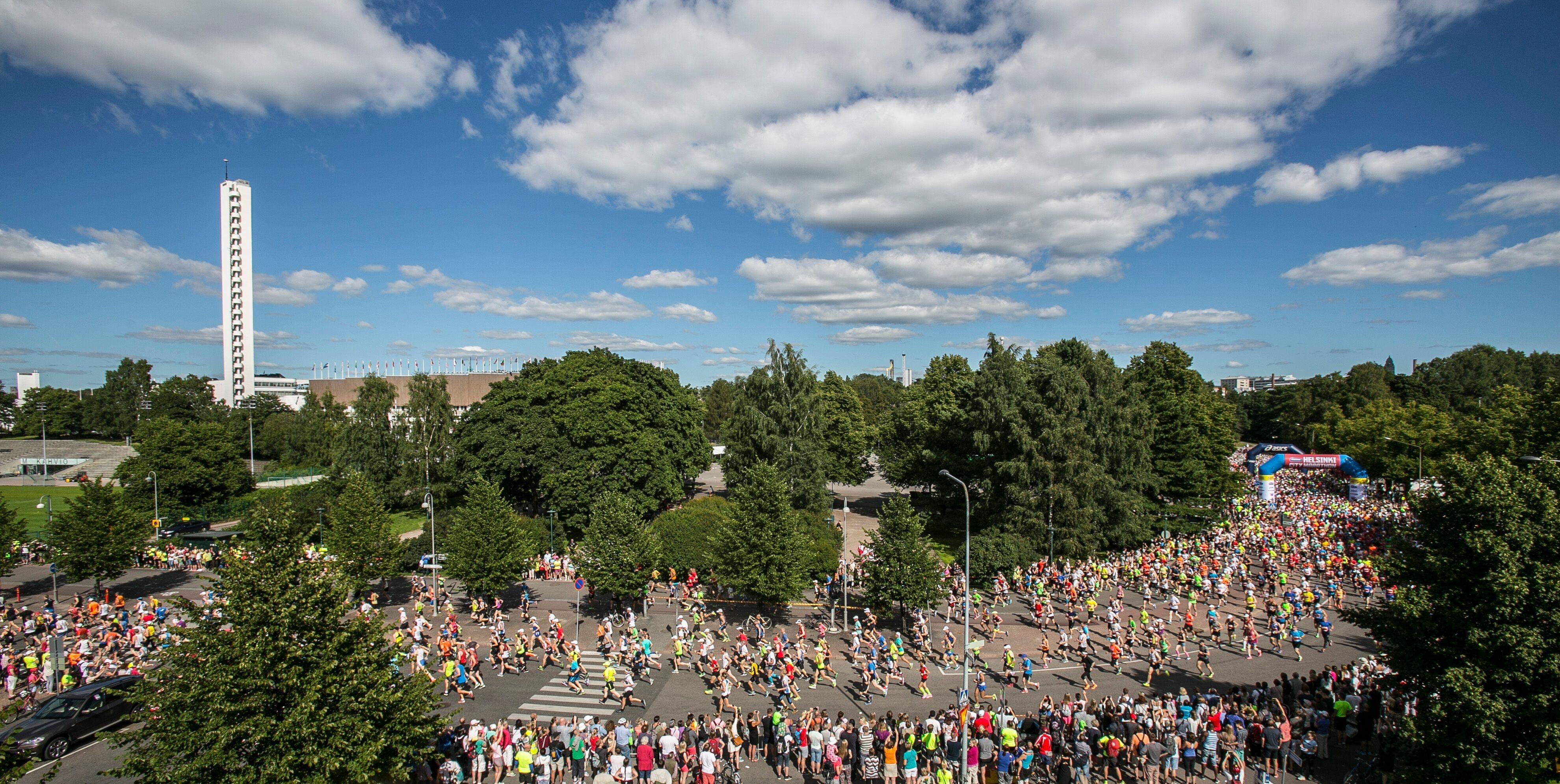 Helsinki City Marathon 2015